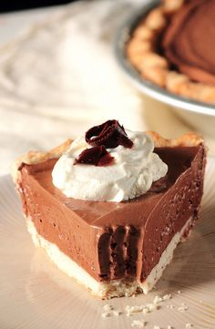 French Silk Pie by pastryaffair, via Flickr