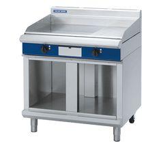 Blue Seal Evolution Series EP516-CB - 900mm Electric Griddle - Cabinet Base