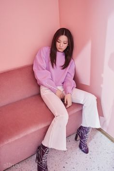 Red Velvet's Seulgi is Fashionista in ALLURE Magazine | Koogle TV
