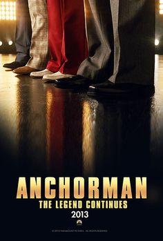 Este año vuelve Anchorman de Paramount Pictures, aquí les dejamos el primer póster promocional.