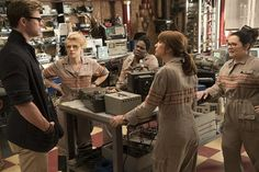 Ghostbusters trailer #2 with Melissa McCarthy, Kristen Wiig, Leslie Jones, and Kate McKinnon. #ghostbusters