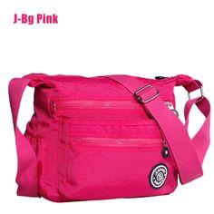 2016 New Waterproof Nylon women messenger bags high quality Kippled Style  Casual Clutch Carteira Female Travel KP Shoulder Bags - SMS - F A S H I O N c84109a08c100
