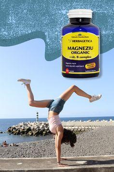 Dacă ai așteptat vara ca să faci mai multă mișcare, nu uita să îți iei și doza zilnică de magneziu! 🤸♀️ Activitatea fizică intensă poate duce la scăderea nivelului de magneziu din organism și, implicit, la oboseală și probleme musculare. Fie că practici un sport de performanță, sau ți-ai pus în gând să fii mai activ, alege 𝐌𝐀𝐆𝐍𝐄𝐙𝐈𝐔 𝐎𝐫𝐠𝐚𝐧𝐢𝐜 𝐜𝐮 𝐁 𝐂𝐨𝐦𝐩𝐥𝐞𝐱 de la 𝐇𝐞𝐫𝐛𝐚𝐠𝐞𝐭𝐢𝐜𝐚. Organic, Nature, Minerals, Naturaleza, Nature Illustration, Off Grid, Natural