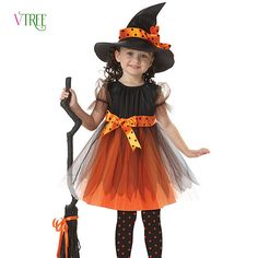 >> Click to Buy << Kids Boy Girl Children Christmas Halloween Cosplay Clothes Witch Girl Pirate Costumes Girls Party Cosplay Costume For Children #Affiliate