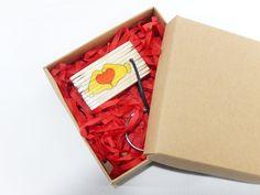Key holder from burnt matches for the Valentine's Day, handmade gift, anniversary gift, birthday gift, keys organization, love gift, keyring by BurnedMatchCreations on Etsy