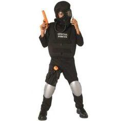 Kids Halloween Costumes Boy Military SWAT Costume