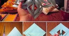 How to Make a 3D Paper Snowflake