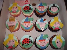 Ben & Holly's Little Kingdom cupcakes by Angelina Cupcake, via Flickr