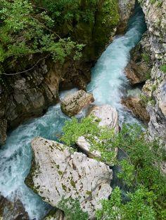BOVEC , SLOVENIA Soca Gorge.  Follow also www.twitter.com/voteltravels