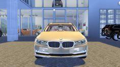 The Sims 4 Mody: BMW 750 Li xDrive 2017 od Ocean RAZR