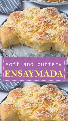 It's light, fluffy and butter-rich. This is the best and easiest homemade Ensaymada you'll ever make. Filipino Bread Recipe, Filipino Dishes, Filipino Desserts, Filipino Food, Filipino Appetizers, Best Filipino Recipes, Philipinische Desserts, Asian Desserts, Dessert Recipes