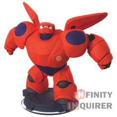 Disney Infinity 2.0 Figure: Baymax (Wave 2, Toy Box Only, Sold Separately)
