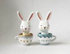 images about Rabbit Paper Mache ll Paper Clay