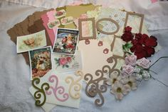 New Chipboard Album kit available at my Etsy