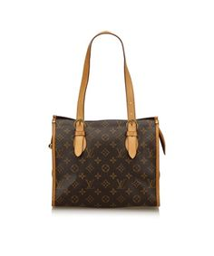 87201315ad558 LOUIS VUITTON PRE-OWNED  MONOGRAM POPINCOURT HAUT.  louisvuitton  bags   leather