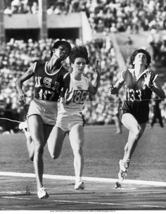 Wilma Rudolph Olympic 100 m. Us Olympics, Rio Olympics 2016, Summer Olympics, Olympic Sports, Olympic Athletes, Olympic Games, Women In History, Black History, Race Walking