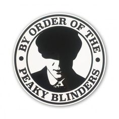 Blinders Sticker - Entertainment Peaky Blinders Sticker - Entertainment By Order Of The Peaky Blinders Razor Blade Peaky Blinders Theme, Peaky Blinders Poster, Peaky Blinders Wallpaper, Peaky Blinders Series, Peaky Blinders Quotes, Cillian Murphy Peaky Blinders, Peeky Blinders, Red Right Hand, Tumblr Stickers