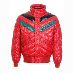 Moncler Men Short Jackets Bubble Red - $239.00	Moncler Jackets Sale http://www.stylemonclercoats.com/