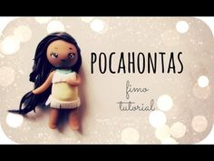 ❤ Pocahontas - Fimo Tutorial ❤ but could use for fondant.
