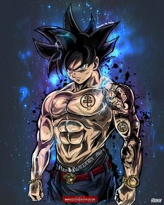 """Stunning Ultra Instinct Goku"" this is called 10 billion % Osmmmm Dragon Ball Gt, Poster Marvel, Superman Hulk, Marvel Art, Wallpaper Do Goku, Dragonball Goku, Goku Saiyan, Goku And Vegeta"