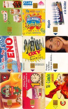 9 Phonecard / Tarjeta Telefonicas Venezuela Cantv  Publicidad Varias