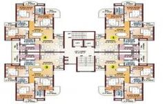High Rise Residential Building Plans, : Home / Residential . Modern Architecture Design, Education Architecture, Architecture Plan, Residential Architecture, Building Layout, Building Plans, Building Design, The Plan, How To Plan