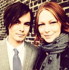 Tyler Blackburn & Laura Prepon > Photo Credit: Instagram