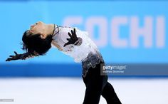 Yuzuru Hanyu of Japan competes during the Figure Skating Men's Free Skating on day seven of the Sochi 2014 Winter Olympics at Iceberg Skating Palace on February 14, 2014 in Sochi, Russia.