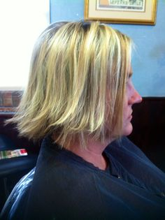 Highlights and cut! By @Tonya Potts by Barbara  Www.winterparkflhairstlist.com