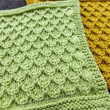 Dishcloth #11: Mock Honeycomb