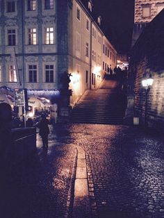 Prague, night