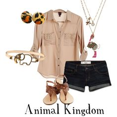 """Animal Kingdom Inspired"" by disneydiva305 on Polyvore"