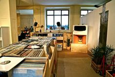 #Berlin Hanging out in Recordloft is like digging for records in the world's greatest living room - and nothing is priced  #CraftsCulture #SlowMovement