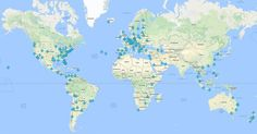 Interactive Map for Airport WiFi Passwords Around theWorld   A handy and routinely updated list of wireless passwords for airports and lounges around the world