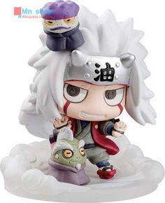 Hot ! NEW 6Pcs/set Q Edition Toys 5cm Naruto Kakashi Jiraiya Uchiha Itachi Action Figure Toys Christmas Toys P20