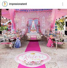 Disney Princess Birthday Party Decoration