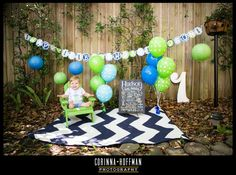 © Corinna Hoffman Photography - www.corinnahoffman.com - Baby Birthday Session - Jacksonville, Florida - Baby Photographer