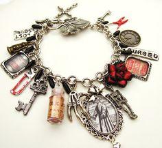 Plague Doctor Bracelet Altered Art Gothic Charm Bracelet The Plague Doctor Gothic Jewelry on Etsy, Sold