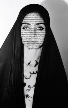Unveiling, 1993, from the series Women of Allah by Shirin Neshat