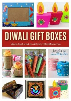 Lots of DIY ideas to decorate your gifts this Diwali From boxes shaped like diyas and crackers, to using eco friendly options to make your gift wrapping one of a kind. Handmade Gifts For Husband, Handmade Birthday Gifts, Gifts For Kids, Diwali Gift Box, Diwali Gifts, Homemade Teacher Gifts, Homemade Gifts, Rangoli Ideas, Diwali Decorations