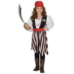 Piraat meisje jurk kostuum kind | Piraten pak | Verkleedkleren