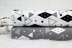 Scandinavian Fabric  Scandinavian Pattern  43 x 35  by KoreaBacol