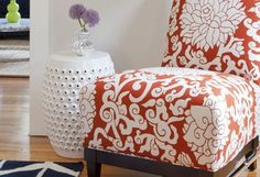 5 Ways to Use Slipper Chairs Coffee Table Size, Ottoman Sofa, Slipper Chairs, Hanging Curtains, Crib Bedding Sets, New Room, Country Chic, Mudroom, Cribs