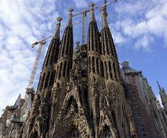 Sagrada Família, Barcelona, España