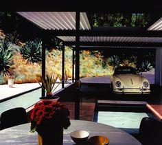 Una casa de Pierre Koenig decorada por Mark Haddawy