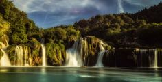Dom Haughton posted a photo:  Just back from my first visit to stunning Croatia, and the national park near Skradin was at the top of the list of places I wanted to see.  When we first arrived the place was rammed full of tourists and day trippers thronging the lower falls, so we went higher and took our time in the cool glades on the duckboards watching from damselflies and frogs. We deliberately missed the last boat back to Skradin and when we returned to the bottom of the falls we had the…