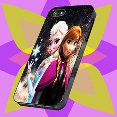 princess anna and elsa disney frozen iphone 4 4s , 5 5s 5c and samsung galaxy s3 s4 case