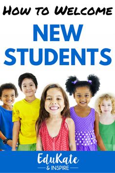 How to Welcome New Students: Read about our new student tour and orientation and creative new student small groups.  Check out the FREE new student banner for a fun hallway display!