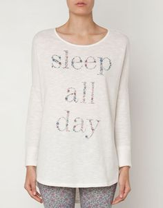 Floral text top - T-shirts - Sleepwear - Azerbaijan