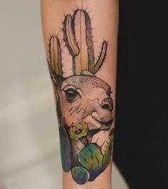 Joanna Swirska Dzo Lama llama tattoo Lama Lama, Dessert Tattoo, New Tattoos, Tattoos For Guys, Tattoo Stockholm, Cactus Tattoo, Sacred Geometry Tattoo, Warrior Tattoos, Hand Poked Tattoo
